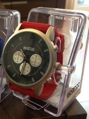 Sparco Nigel men's red watch brand new boxed