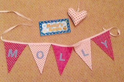 Molly Door Sign and Bunting