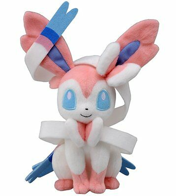 Peluche Sylveon Eevee Pokemon Plush 25 cm inches jouets
