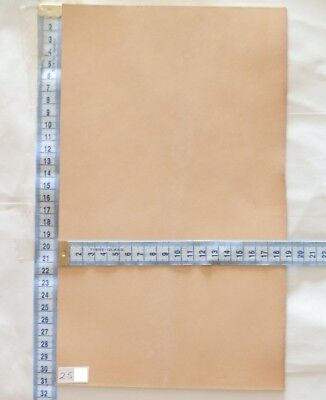 2.5Mm Thick Natural Veg Tan High Grade Craft Tooling Leather