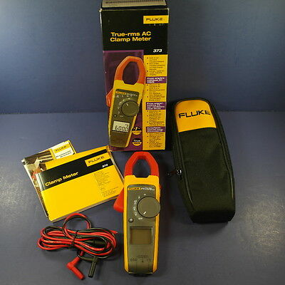 Brand New Fluke 373 True RMS AC Clamp Meter!