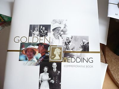 Royal Mail Golden Wedding  Commemorative Book  Of Stamps & Cards
