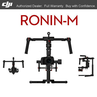 DJI Ronin-M 3-Axis Handheld Gimbal Stabilizer d