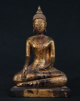 18th century Antique Lanna Buddha statue from Thailand | Antique Buddha Statues
