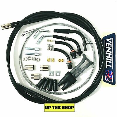 VENHILL Universal Dual Throttle cable kit, 1.35m long Motorcycle U01-4-150