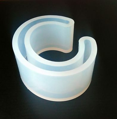 Food Grade Silicone Mold Jewelry Making 3d Resin Bracelet Casting Mold Open Cuff
