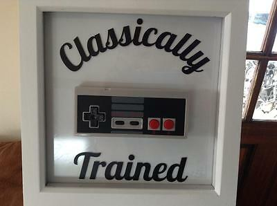 Classically Trained - Real Framed NES Classic Nintendo Controller