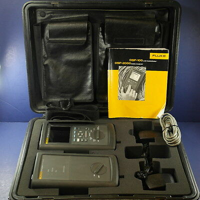Fluke DSP-2000 Network Cable Analyzer with DSP-2000SR Smart Remote, Great!