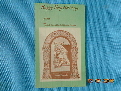 Turks and Caicos stamps. Happy Holy Holidays Booklet 1979
