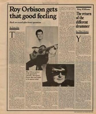 Roy Orbison Interview/article 1979 RS-CSYE