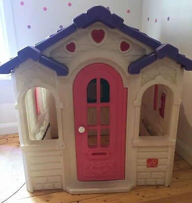 Step 2 - Large Girls Cubby House Sweetheart Playhouse