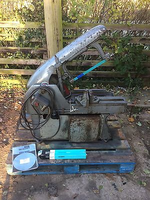 Qualters & Smith 3 Phase Sawmaster Power Hacksaw Good Working Order