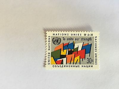 United Nations Unies Un New York Mnh 1961 Regular Issue