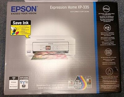 Epson Expression Home XP-335 All in One Wireless Colour Inkjet Printer ✅
