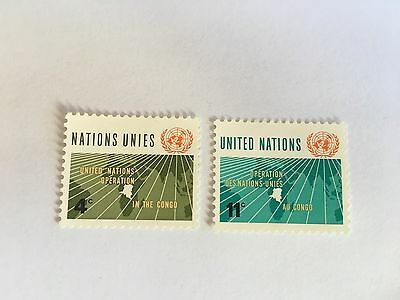 United Nations Unies Un New York Mnh 1962 United Nations Day