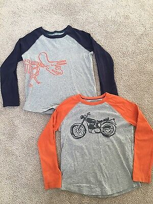2 boden boys tops with raglan sleeves age 4-5