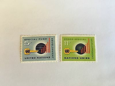 United Nations Unies Un New York Mnh 1965 Special Fund