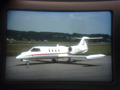 Military aircraft slide Swiss Air Force Learjet T-781  Dubendorf 2005 (zgd3)