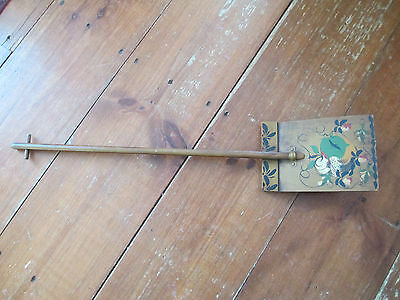 Rustic Primitive Shovel Wall Hanger Paint Decorated Miniature display Jean Dewey