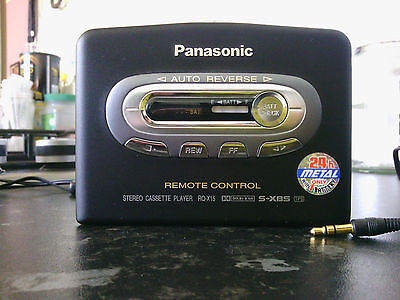 Panasonic personal stereo cassette player RQ-X15