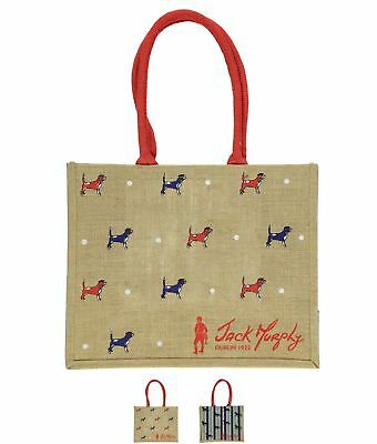 OCCASIONE Jack Murphy Jute Shopping Bag Snow Pny Copper