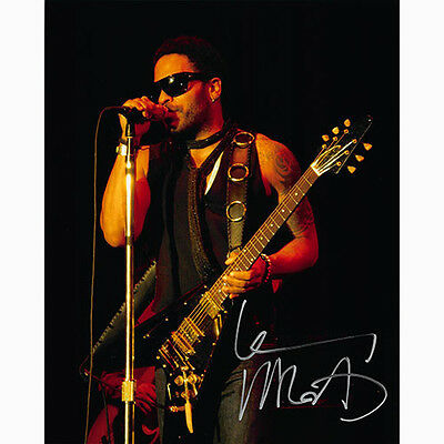 Lenny Kravitz (9216-2) Autographed In Person Photo