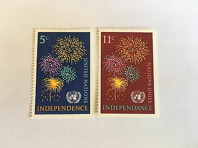 United Nations Unies Un New York Mnh 1967 Independence