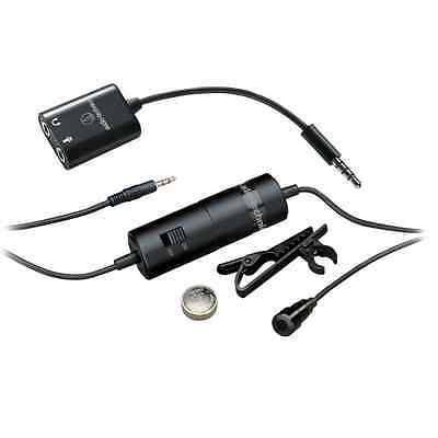 Audio-Technica ATR3350iS Microphone  for Smartphones - 19.69-Feet