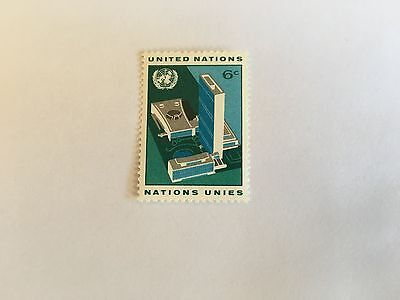United Nations Unies Un New York Mnh 1968 Definitive