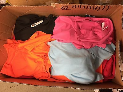 Wholesale Job Lot/Bundle of Adults Mixed Polo Shirts - Quantity: 100 - Brand New