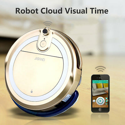 Touch Screen Robotic Vacuum Cleaner Timer Auto Recharge&Clean Floor Sweeper+