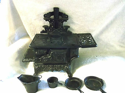 Crescent Cast Iron Stove with Accessories