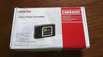 Contec CMS60C OLED Pulse Oximeter Monitor USB+SW Pulse Rate Oxygen Blood SPO2