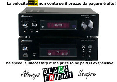 Pioneer XC-P01DAB Pure Compact HiFi System with CD, iPod/iPhone Playback