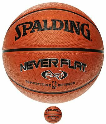 OCCASIONE Spalding NBA NeverFlat Basket Orange