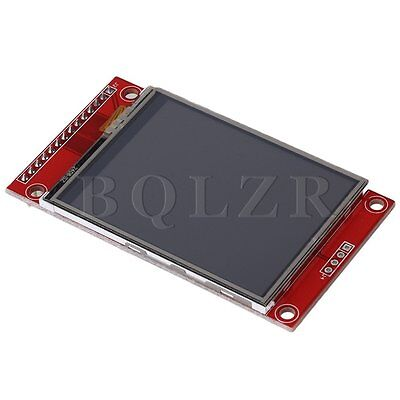 "2,4""  240 x 320 SPI TFT Upgrade-LCD Serial Port-Modul + 5V / 3,3V PBC Adapter"
