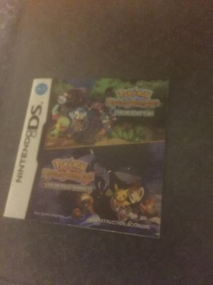 Pokemon Mystery Dungeon Time / Darkness Ds Manual.