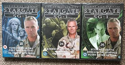 Stargate Dvd Collection X 3