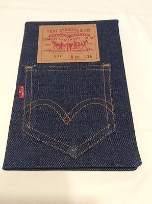 RARE Vintage Levi's Levi Strauss Red Tab Denim Jeans Address Book Brand New
