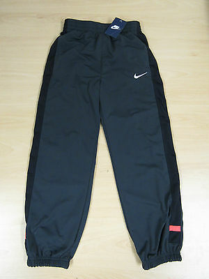 Childrens Youth Boys Nike Tracksuit Bottoms Trousers Pants Grey 12-13 Years AC24