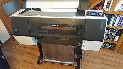 Epson Stylus Pro 7890 Large Format Inkjet Printer with inks