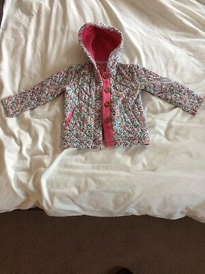 Joules Girls Coat Size 4 Yrs
