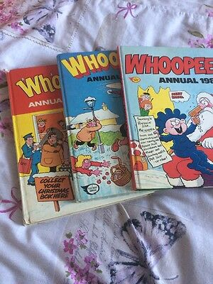Whoopee Annual 1979,1982,1986