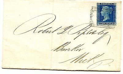 Gb 1858 2D Blue From Plate 7 Tied To An 1859 Wrapper.