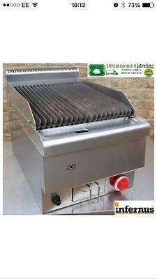 Brand New Infernus Counter Top Gas Grill Griddle