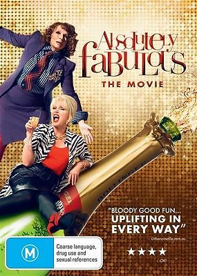 Absolutely Fabulous - The Movie (DVD, 2016) Brand New Sealed Region 4