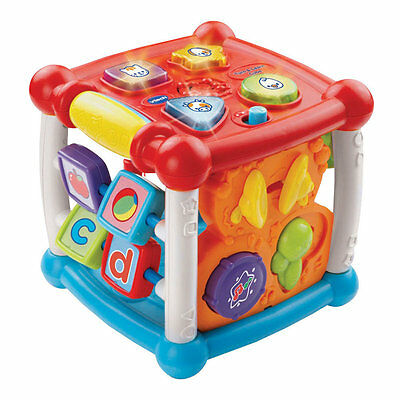 VTech Turn 'n' Learn Cube, Kids Musical Educational Activity Baby Toy