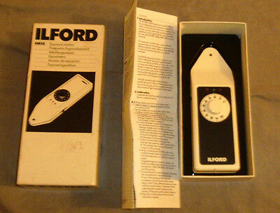 Ilford Em10 Exposure Monitor - Darkroom Accessory In Box With Instructions