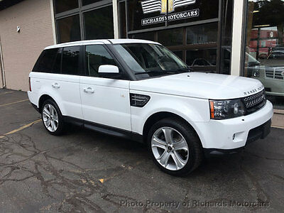2013 Land Rover Range Rover Sport 4WD 4dr HSE LUX Heated Leather Seats, Push to Start, Navigation, Back Up Camera, Moonroof