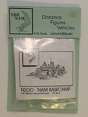 1/35 Resin Accessories By Grafitti Miniatures, Vietnam Base Camp. New